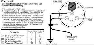vdo fuel sender wiring diagram wiring diagrams vdo fuel gauge wiring instructions below installation