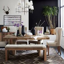 simple emmerson reclaimed wood dining table west elm dining room chairs