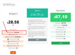 Pricing Table Templates Pricing Tables Whmpress Documents