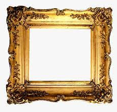 gold picture frames hd png