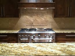 Travertine Kitchen Backsplash Kitchen Best Backsplash For Kitchen Intended For Travertine Tile