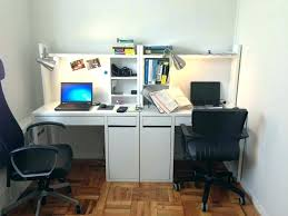 Home office desks for two Contemporary Two Person Desk Ideas Office Desk For Two Office Desk Two Person Corner Desk Home Office Digitalequityinfo Two Person Desk Ideas Digitalequityinfo