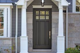 custom wood front entry doors classic collection 3 panel door euro technology clear