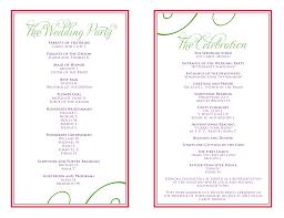Wedding Programs Template Free 009 Template Ideas Wedding Programs Templates Free Awesome
