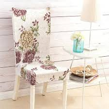 dining chair covers fl printing anti dirty stretch chair covers elastic dining chair protector wedding home dining chair covers