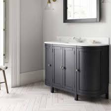 etienne 1200mm curved bathroom vanity
