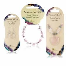 rose quartz jewellery collection