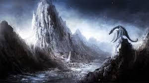 Skyrim Dragon Wallpaper on WallpaperSafari