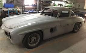Private sale (hillcrest, kwazulu natal). Rare Replica Mercedes Benz 300sl Gullwing Body Barn Finds