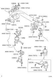 cyl usa camry motor mounts toyota nation forum toyota it has four to five depending on transmission option