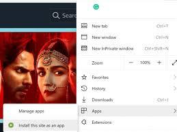 Amazon Prime Video app on Windows 10