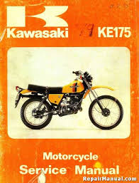kawasaki ke d series motorcycle repair service manual 1979 1982 kawasaki ke175 d series motorcycle repair service manual