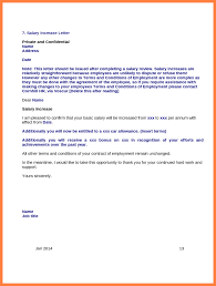 raise salary letter 5 salary increase letter template uk salary slip