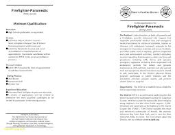 Firefighter Resume Templates Amazing Firefighter Resume Template Best Of Wildland Firefighting Resume