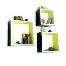 floating shelf white floating square shelf square box wall shelves square shelves wall carbon black square