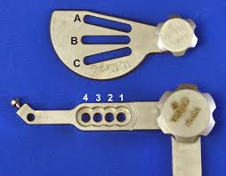 The Depuy Synthes Tplo Saw Guide Has A Combination Of 12
