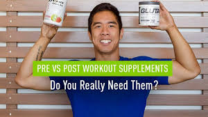pre vs post workout supplements and do