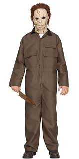 Amazon.com: Fun World Michael Myers Deluxe Teen Halloween Costume Teen  5u00277/150: Toys U0026 Games