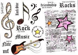 music note stamp jill jocobsen rubber stamps sparkle n sprinkle