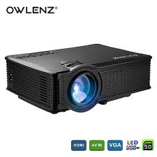 home theater hd projector. owlenz 1500 lumens sd50 lcd mini projector home theater movie multimedia video led proyector hd projectors hd