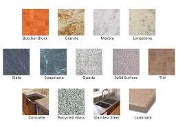 butcher block countertops vs granite tile quartz types of kitchen countertops pros and cons