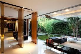 extraordinary courtyard modern house plans
