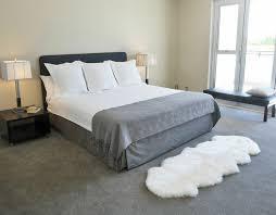 sheepskin double pelt rug ivory