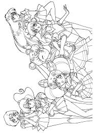 Http Colorings Co Anime Chibi Coloring Pages For Girls Sailor