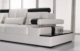 modern contemporary leather sofas sectional sofa arms with regard to design ideas 8