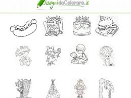 Disegni Da Colorare Per Bambini Con Mostri Pagina Da Stampare Con