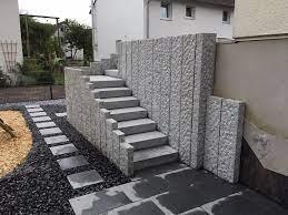 Wir planen und fertigen ihre neue treppe aus qualitativ hochwertigen materialien, wie. Mauern Stufen M M Gartenbau