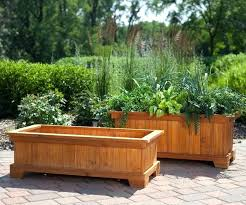 large tree planter box large sized rectangular shaped wooden tree planter boxes patio garden tree planting