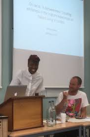 """Emma Guion Akdağ on Twitter: """"Ieisha James (Birbeck) on the shifting  dynamics of whiteness #REPS2019… """""""