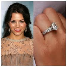 celebrities diamond engagement rings sterling leaf jewelry