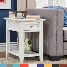 charging end table. Zayden 1-drawer Side Table With Charging Station By INSPIRE Q Bold End D