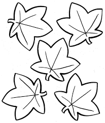 Small Picture Coloring Pages Printable Autumn Leaves Coloring Pages Free All