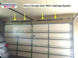 appealing garage door torsion spring adjustment s clopay