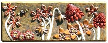 wall art ceramic sun outdoor tiles tile mexican uk
