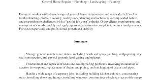 Self Employed Handyman Resume Handyman Cv Cover Letter 2 Yomm