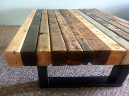 furnitures pallet wood coffee table