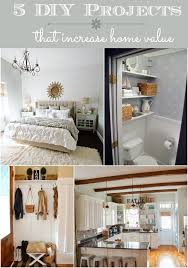 diy projects that increase home value