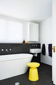 extraordinary black and white bathroom. Extraordinary Black White Bathroom Tile Floor And A