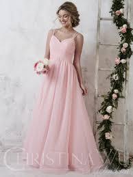 Light Pink Bridesmaid Dresses Long Christina Wu Celebrations 22732 Light Pink Bridesmaid
