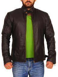 classic brown leather jacket men men celebrity brown leather jacket