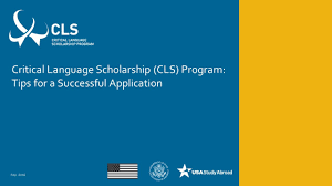 application tips cls program application tips cls program