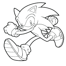 Free Sonic Coloring Pages Sonic The Hedgehog Coloring Pages Sonic