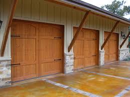 canyon country garage door wood custom