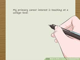 How To Write A Career Development Plan 12 Steps With Pictures