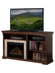 dimplex edgewood espresso electric fireplace entertainment center with logs gds25 1269 indoor