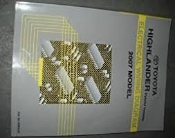 2007 highlander wiring diagram wiring diagram libraries 2007 highlander wiring diagram